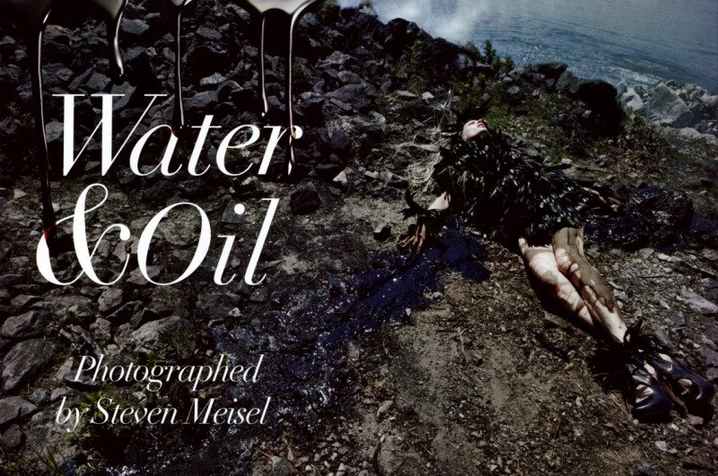 Vogue Itália - ''Water & Oil'' by Steven Meisel (11)