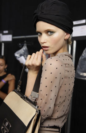 turban backstage