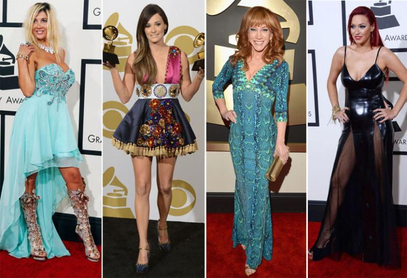 Top 15 dos piores looks Grammys 2014