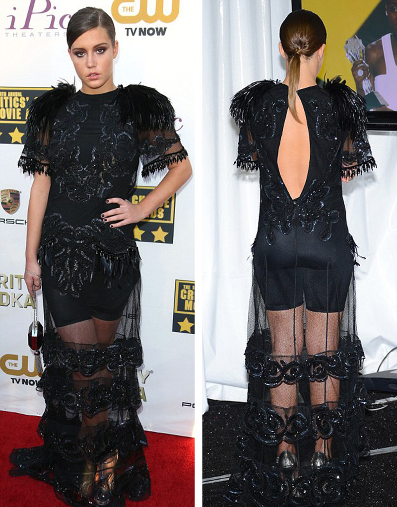 Adele Exarchopoulos - critics movie choice awards