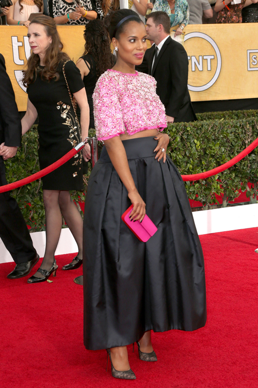 Screen Actors Guild 2014 Kerry Washington (3)
