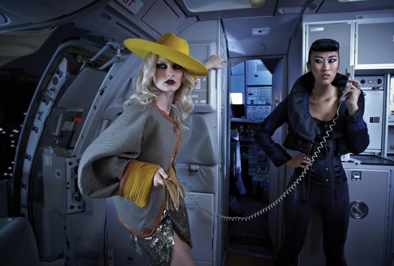 Foto: Henrique Seruca - Conceito e Styling: Nuno Tiago para ''Flash! Especial Moda''