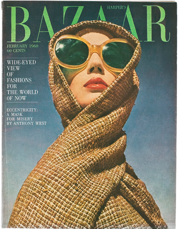 Harper's Bazaar, February 1960.  Photographed by Richard Avedon, with Diana Vreeland as the Editor.