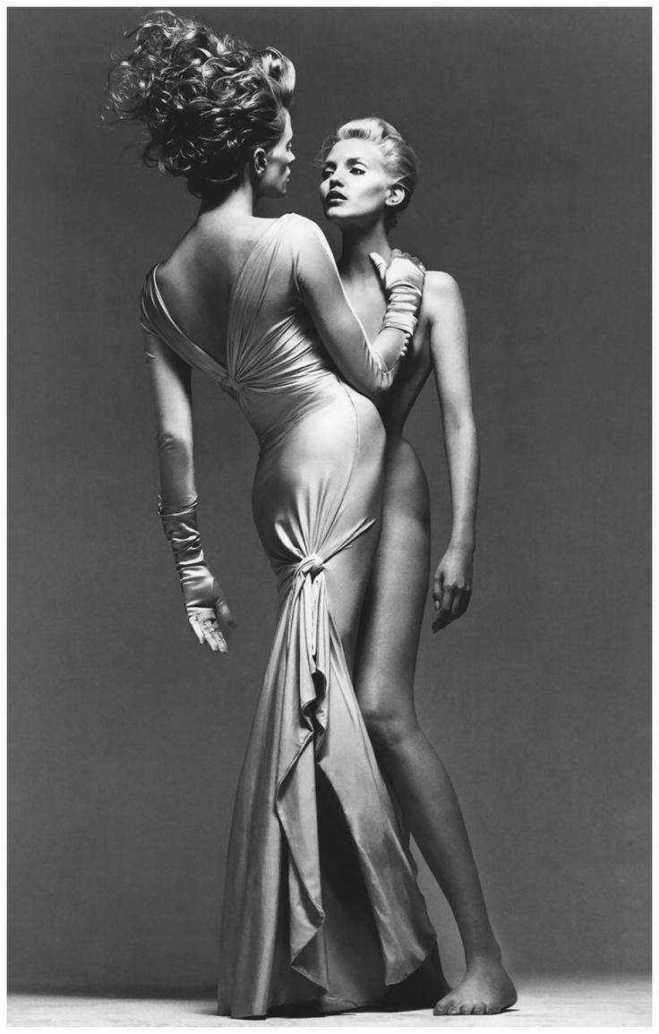 Richard Avedon Kristen McMenamy Nadja Auermann Versace Campaign Spring 1995