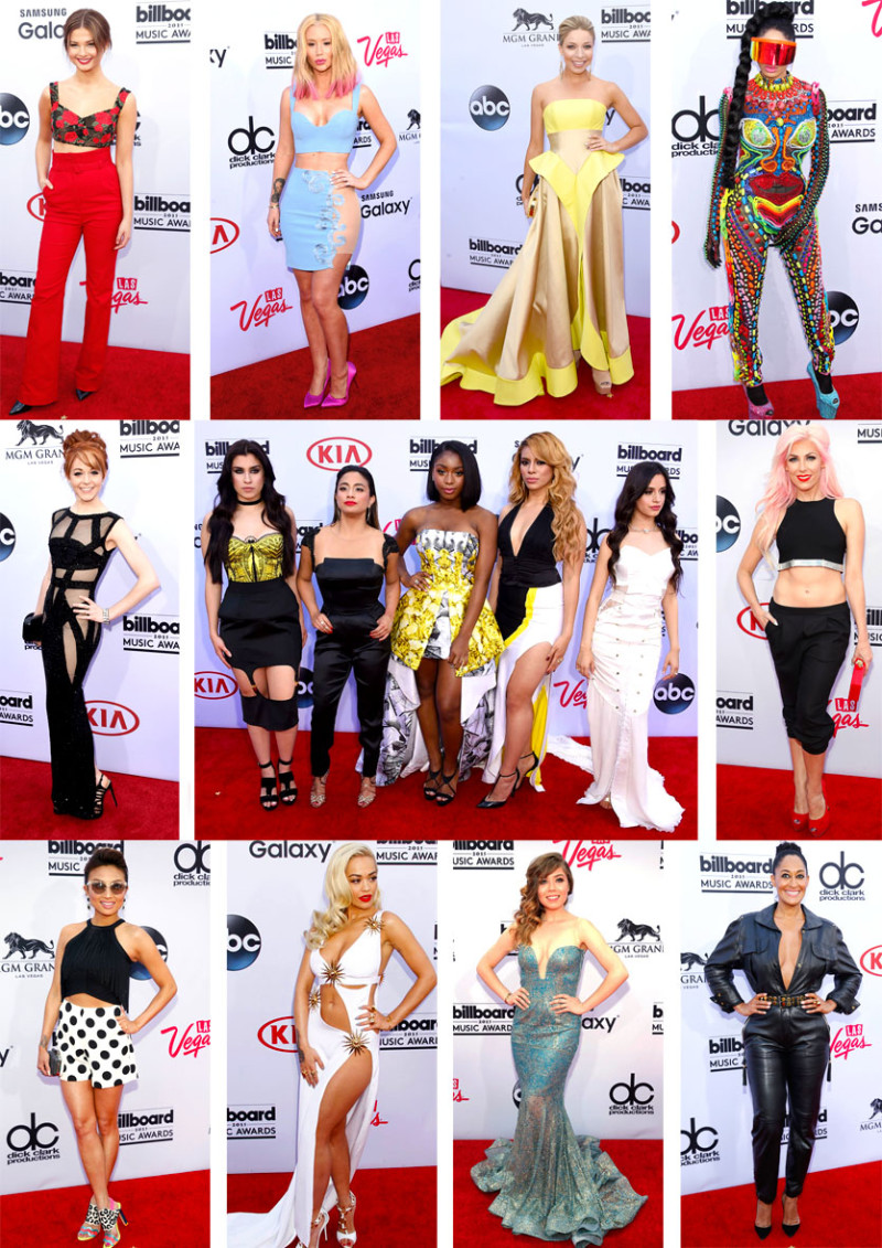 Top 25 Piores looks - Billboard Music Awards 2015
