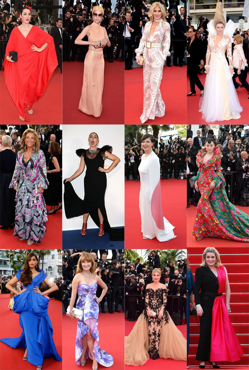 Top 40 Piores Vestidas - Cannes 2015
