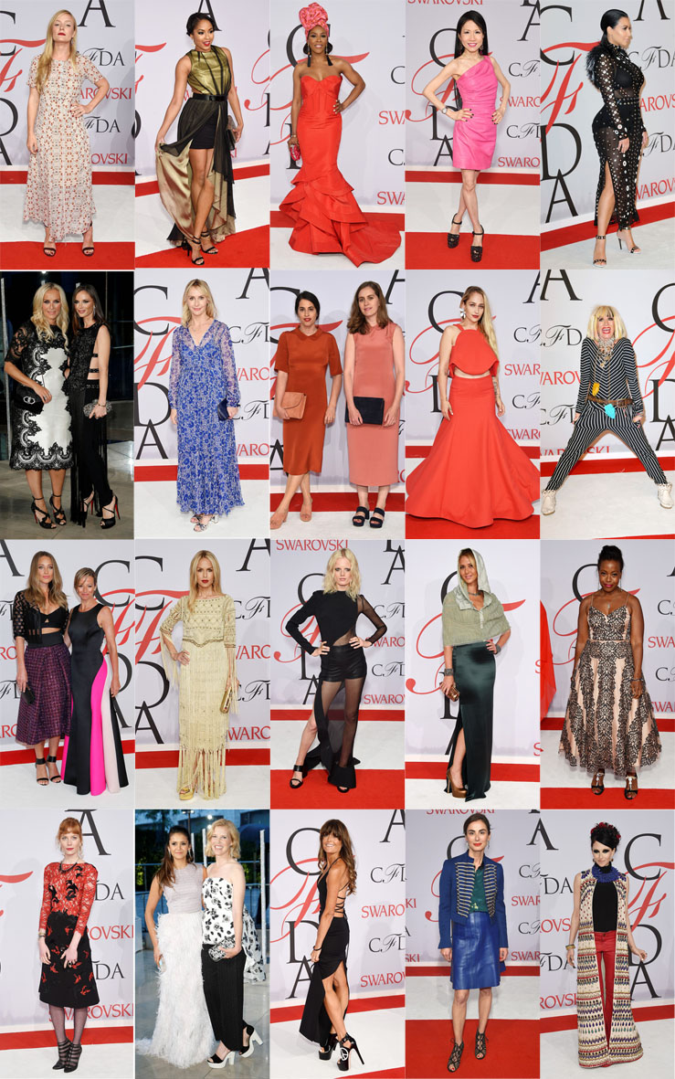 Top 40 - Piores Looks - CFDA Fashion Awards 2015