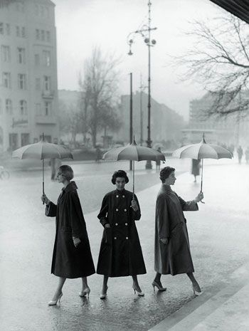Umbrella Fashion by F.C Gundlach