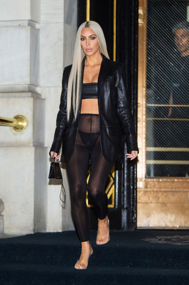 Kim-Kardashian-wears-a-daring-sheer-leather-outfit-when-out-and-about-in-New-York