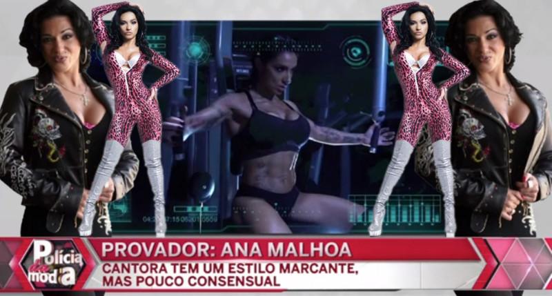 Policia da moda- Ana Malhoa -Provador