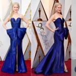 Nicole Kidman in Armani Privé ou ou terá plagiado o vestido a esta Barbie com mais de 50 anos