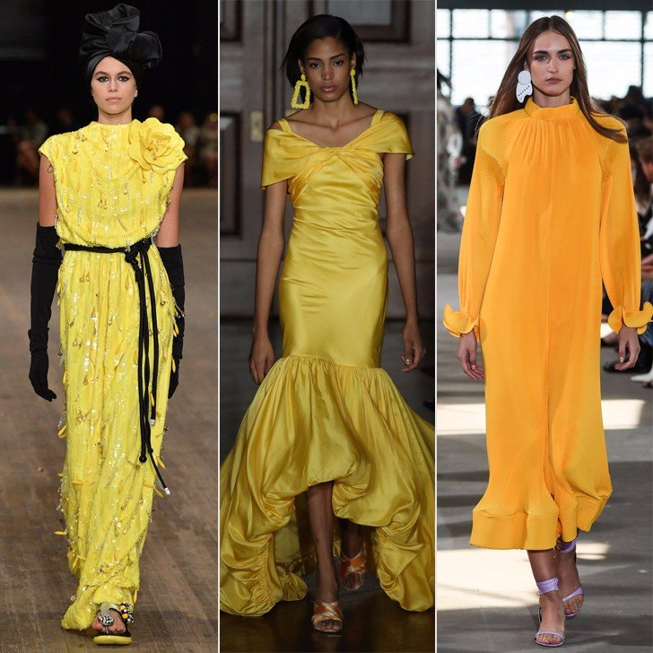 Yellow-Dresses-Runway-Spring-2018