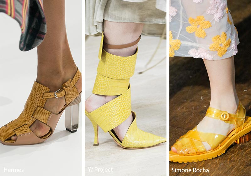 spring_summer_2018_shoes_trends_yellow_shoes