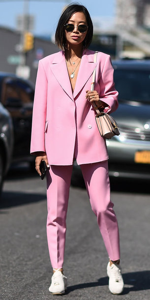 6lo9mr-l-610x610-pants-pink-aimee+song-nyfw+2017-ny+fashion+week+2017-streetstyle-blazer-suit-blogger-jacket